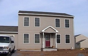 A completed Habitat home in Arendtsville, Adams County