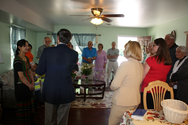 A Circle of Support: June 1 Home Dedication and Blessing
