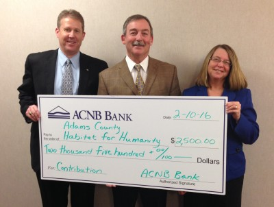 Check Presentation - Adams County Habitat for Humanity